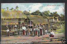 South East Asia Postcard - Village Scene, Burma   BH6511