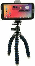 Arkon MG2TRI Flexible Tripod Mount Mobile Grip 2 Holder for All IOS Android an