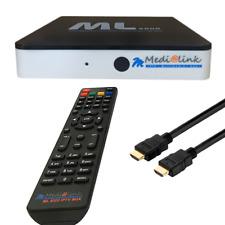 Medialink ML8000 4K UHD IPTV Receiver WIFI Stalker Android 7.0.1