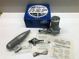 ASP 108 ABC RC ENGINE with Muffler - NIB
