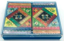 "Hallmark Playing Cards ""Patchwork"" VINTAGE"
