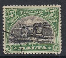 MALTA 1926 5/ black and green SG171 -fine used