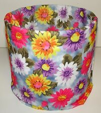 Pastel Flowers Tubular Multi Function Headwear Balaclava Beanie Cap Scarf Mask
