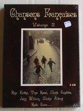 COFFRET 3 CD CHANSONS FRANCAISES - VOL 2 - Tino ROSSI / Rina KETTY... - NEUF