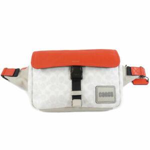 COACH  1043 Hip bag, waist bag Signature PVC Leather