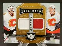 2007-08 Artifacts Tundra Tandems Patches Silver #TT-KP Kiprusoff Phaneuf 19/35