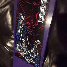 Vintage NOS 80s Santa Cruz Corey O Brian Skateboard Deck purple COLOR