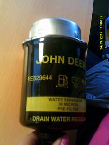 Original John Deere Wasserabscheider RE529644