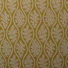 "P KAUFMANN CORAL CAY GOLDENROD YELLOW TROPICAL JACQUARD FABRIC BY THE YARD 55""W"