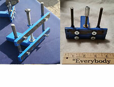 2 ROCK CLAMP LOT, 1 Medium clamp & 1 Small Clamp for holding end cuts, lapidary