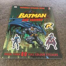 NEW, ULIMATE STICKER BOOK. BATMAN AND FRIENDS. 80 STICKERS. 9781409338789
