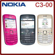 Nokia C Series C3-00 - Blue (Chatr) wifi Qwerty Keypad Smartphone