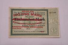 Notgeld, Badische Anilin und Soda, Ammoniakwerk Merseburg, 100 000  Mark
