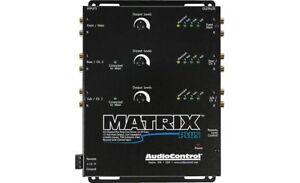 AudioControl MatrixPlus / 6-Channel Line Driver / BLACK / HIGH VOLTAGE  **NEW**