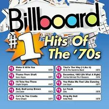 Various Artists : Billboard #1 Hits of the 70s CD