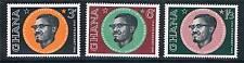 Ghana 1962 1st Death Anniv. Lumumba SG 286/8  MNH