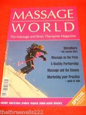 MASSAGE WORLD - SHIRODHARA - DEC 2005