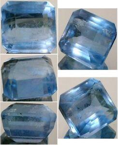 Blue Fluorite 12ct Antique 19thC Bavaria: Gem of Roman Britain Transvaal Emerald