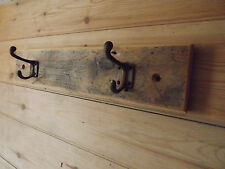 reclaimed wood and metal coat hooks .rustic coat rack.reclaimed coat racks