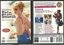 ERIN BROCKOVICH JULIA ROBERTS ALBERT FINNEY AARON ECKHART A TRUE STORY NEW DVD