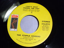 Staple Singers: That's What Friends are For / City in the Sky  [Unplayed Copy]