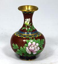 Cloisonne Vase (Miniature)