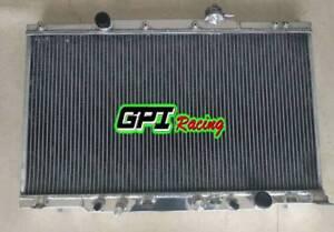 FOR 02-06 HONDA CR-V 2.4L L4 AND 03-06 HONDA ELEMENT 2.4L L4 Aluminum Radiator