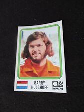 HULSHOFF  NEDERLAND  image sticker N° 239 MUNCHEN 74 PANINI 1974 WORLD CUP