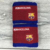 Official FC BARCELONA Football Wristbands Sweat Bands Running R322-18