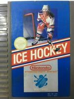 NES ICE HOCKEY Nintendo Videogame Cartridge w/Official Game Sleeve