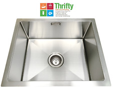 EVERHARD SQUARELINE PLUS LAUNDRY UTILITY SINK STAINLESS STEEL 42L