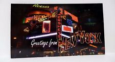 NYC Magnet Times Square New York Hershey's Chocolate Souvenir Tourist Made USA