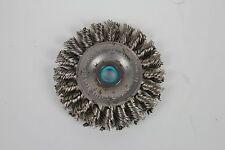 """(15 PACK) Weiler 3"""" Standard Twist Knot Wire Wheel, 1/2""""-3/8"""" Arbor Hole"""