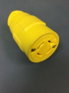 Woodhead Female Connector 2775 L15-20R 20 Amp 250 Volt 4 Wire