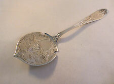 Coin Silver Hyde & Goodrich/Wood & Hughes Architectural Engraved Hot Cake Server