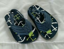 Cherokee Toddler Boys Flip Flops 5/6 NWOT