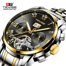 Tevise Business Men's Wirst Watch Mechanical Automatic Stainless Steel Strap