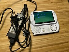 Sony PSP Go - 16 GB Pearl White Handheld Console w/ Charger