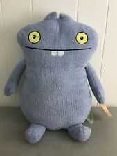 "NWT Ugly Dolls MOVIE 2019 UglyDolls ""BABO"" 18"" PLUSH Stuffed Animal Light Blue"