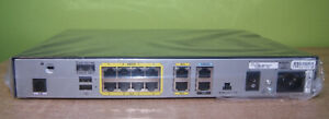 NEW in box Cisco 1811 10/100 Integrated Services Router 1811/K9 with Flash Card