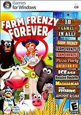 Farm Frenzy Forever 10 Games For Windows PC-CD FACTORY SEALED FREE SHIPPING!!
