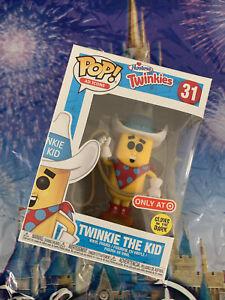 Ad Icons Twinkie The Kid GITD Target Exclusive #31 Pop Vinyl Figure Funko