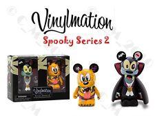 "Disney Vinylmation Spooky Series 2 Vampire Goofy & Werewolf Pluto 3"" Figure"