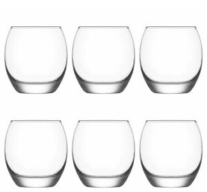 Tumbler Glasses Hi Ball Drinks Water Glass Juice Tumblers - 405ml  (Pack of 6)