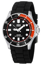 Aqua Force Dive Watch w/ Black Face (200m Water Resistant)