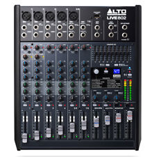 Alto Live 802 - 8-Channel, 2-Bus Live Sound Desk Audio Mixer