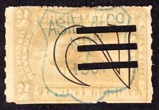 US R185 $2 REVENUE  - ASIEL & CO 1901 HANDSTAMP  6605
