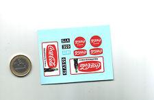 decals decalcomanie pour citroen 2cv coca cola 1/24