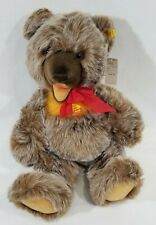 "LM VINTAGE 1980 Steiff 0305/50 21"" Zotty Teddy Bear Jointed Tipped Mohair NEW"
