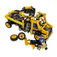 1 x Lego Technic Set Model Construction 8438 Pneumatic Crane Truck with 2 Figure